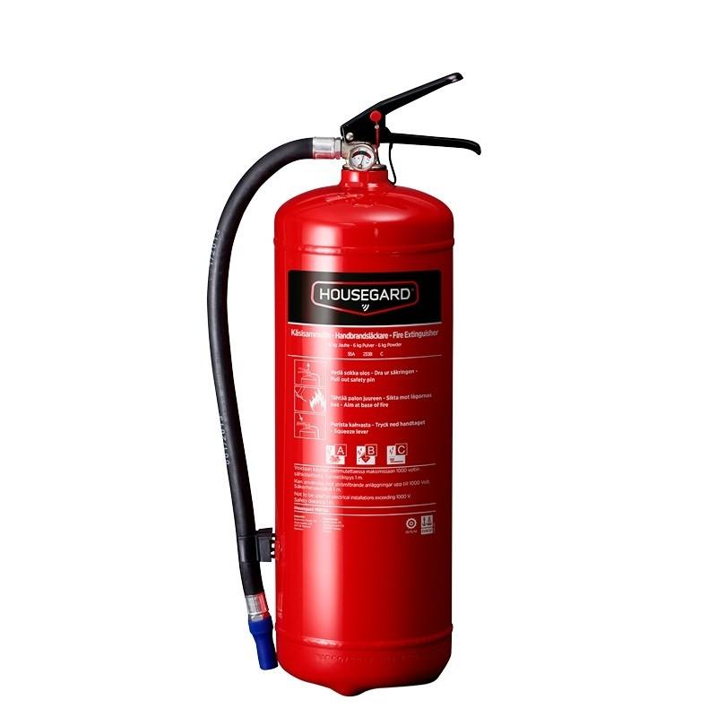 Brandsläckare 6 kg