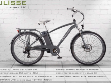 Renting out with online payment: ULISSE CITY-TREK 28'' - Noleggio bici Lago d'Iseo