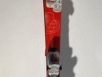 Selling: Head Monster Team Jr. System Skis 27w/ Marker 7.0 Adjustable Bind