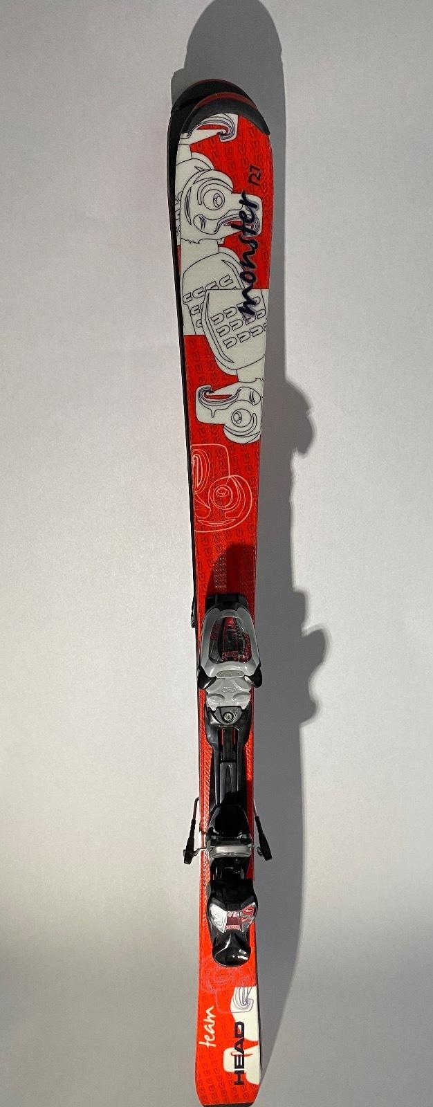 Head Monster Team Jr. System Skis 27w/ Marker 7.0 Adjustable Bind
