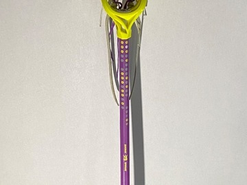 Selling: Girls Brine  Dynasty Rise Stick + Bag + face guard