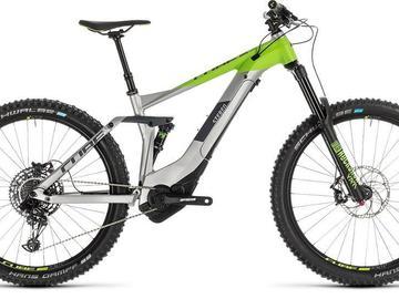 E-Enduro CUBE STEREO HYBRID 160RACE - Noleggio bici Lago Maggiore
