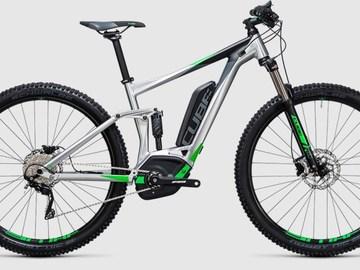 Affitto con pagamento online: CUBE STEREO HYBRID 120 ONE 400 - Noleggio bici Lago Maggiore