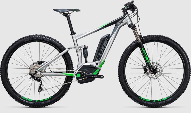 CUBE STEREO HYBRID 120 ONE 400 - Noleggio bici Lago Maggiore