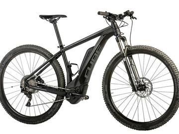 eMTB CUBE REACTION HYBRID HPA SL500 - Noleggio bici Lago Maggiore