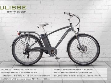 ULISSE CITY-TREK 28'' - Noleggio bici Lago d'Iseo
