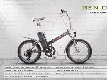 GENIO FOLD X-TRAIL - Noleggio bici Lago d'Iseo