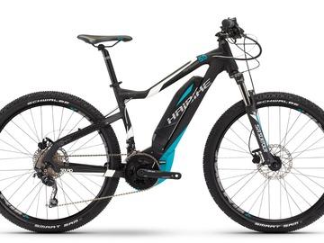 Affitto con pagamento online: Noleggio Bici E-Mtb Vip Haibike SDURO HardSeven 5.5 - Cortina