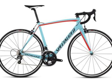 Affitto con pagamento online: Noleggio Bici Carbon Vip Specialized Tarmac Comp - Cortina