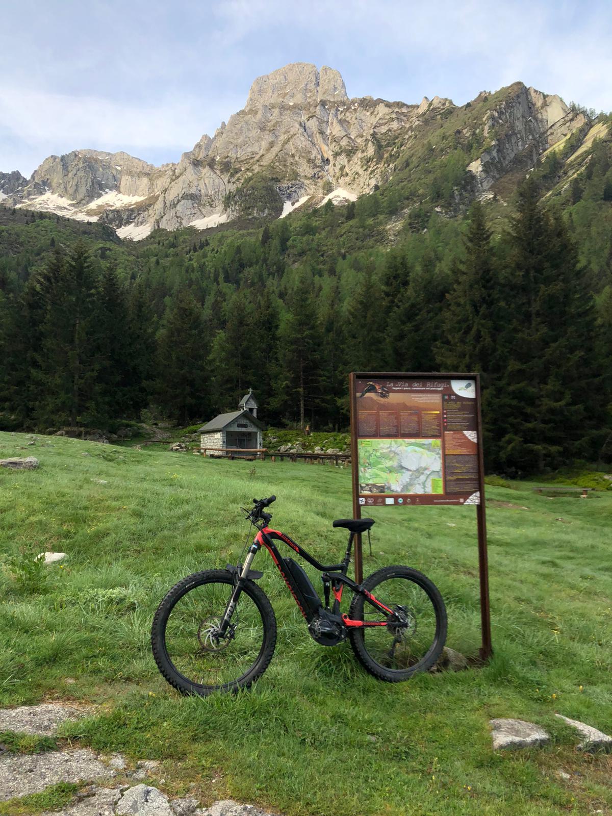 Noleggio bici E-Mtb Rossignol E-Track Trail Two - Lago d'Iseo
