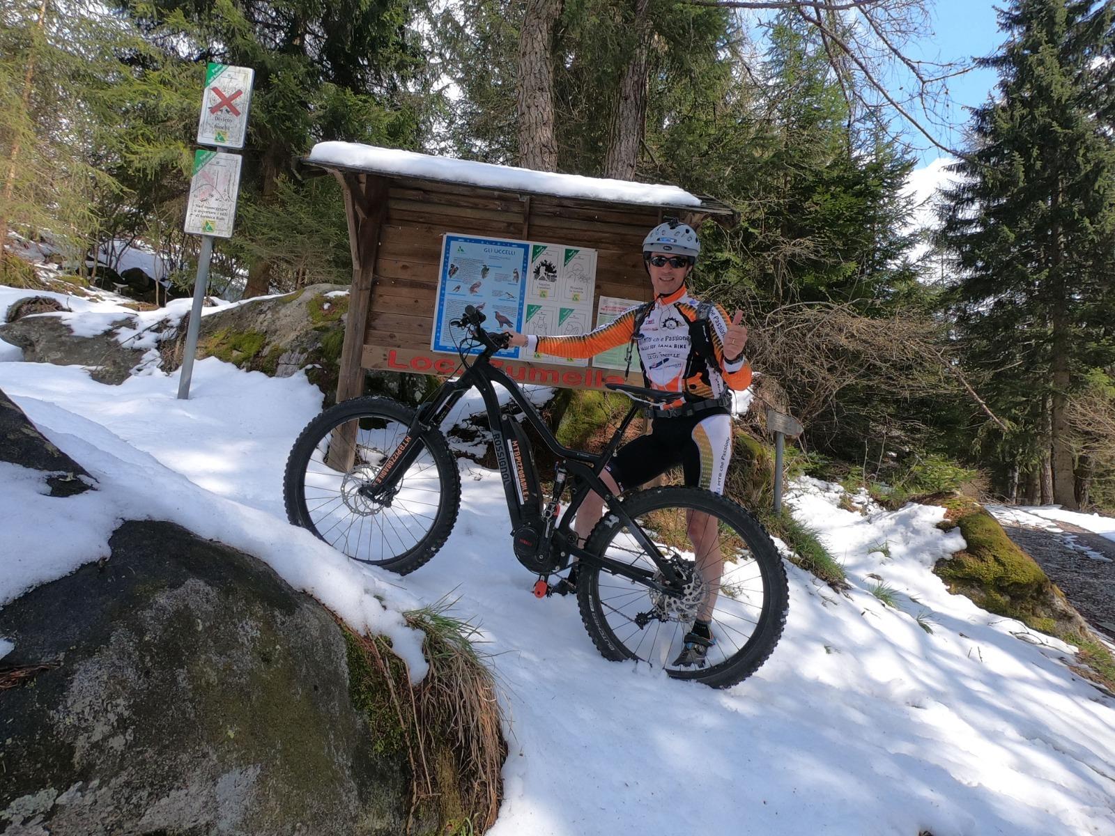 Noleggio bici E-Mtb Rossignol E-track Trail Two - Monte Pora