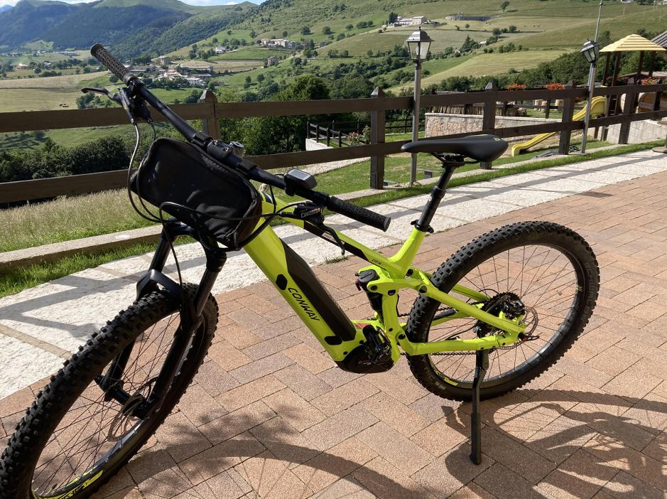 Noleggio bici E-Mtb Conway Full Suspensions 2020 - Erbezzo