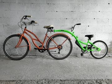 Affitto con pagamento online: Noleggio CAMMELLINO per bici - Mantova