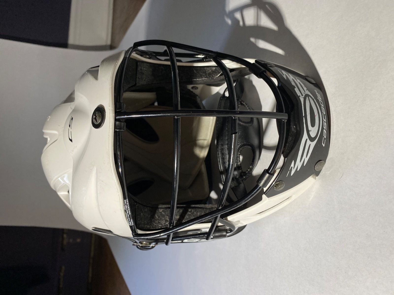 Combo Youth Lacrosse helmet and Stick
