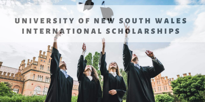 Зарлал: University of New South Wales International Scholarships