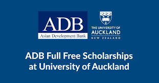 ADB Scholarships at University of Auckland (Annual)