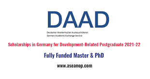Зарлал: DAAD Scholarships in Germany for Development-Related PG (Annual)