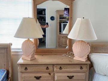 Sell: Wooden Dresser w/Mirror