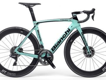 Affitto con pagamento online: Noleggio Bici BIANCHI OLTRE XR4 Disc 2020 - Bellagio