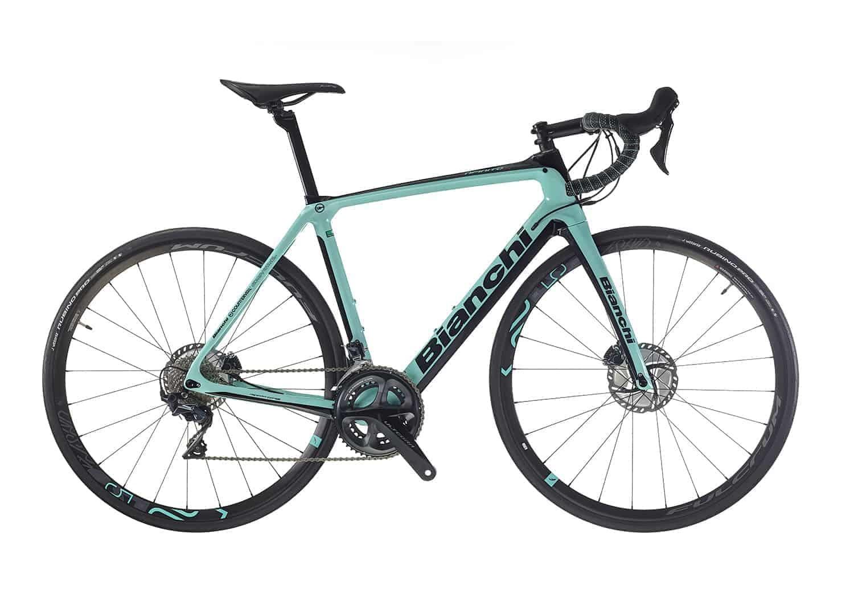 Noleggio Bici BIANCHI INFINITO CV Disc 2020 - Bellagio