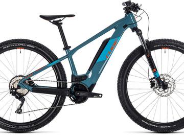Affitto con pagamento online: CUBE REACTION HYBRID YOUTH Junior - Noleggio bici E-Mtb Sestriere