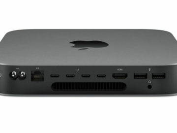 Online checkout and shipping: Mac Mini (2018)