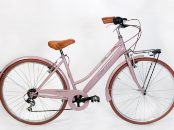 Affitto con pagamento online: CITY BIKE BRITISH (Donna) - Noleggio Bici Bibione