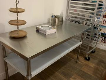 Sell: Stainless Steel Table