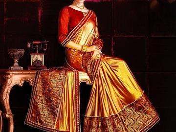 Selling: Designer Kanjivaram Silk Saree