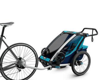 Affitto con pagamento online: Noleggio rimorchio bici per bambini - Alto Adige