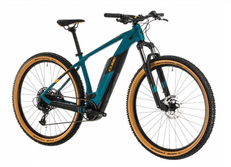 eMTB CUBE REACTION HYBRID 500 - Noleggio bici Follina