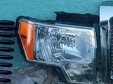 Sell: Ford Headlights, Grill and Springs