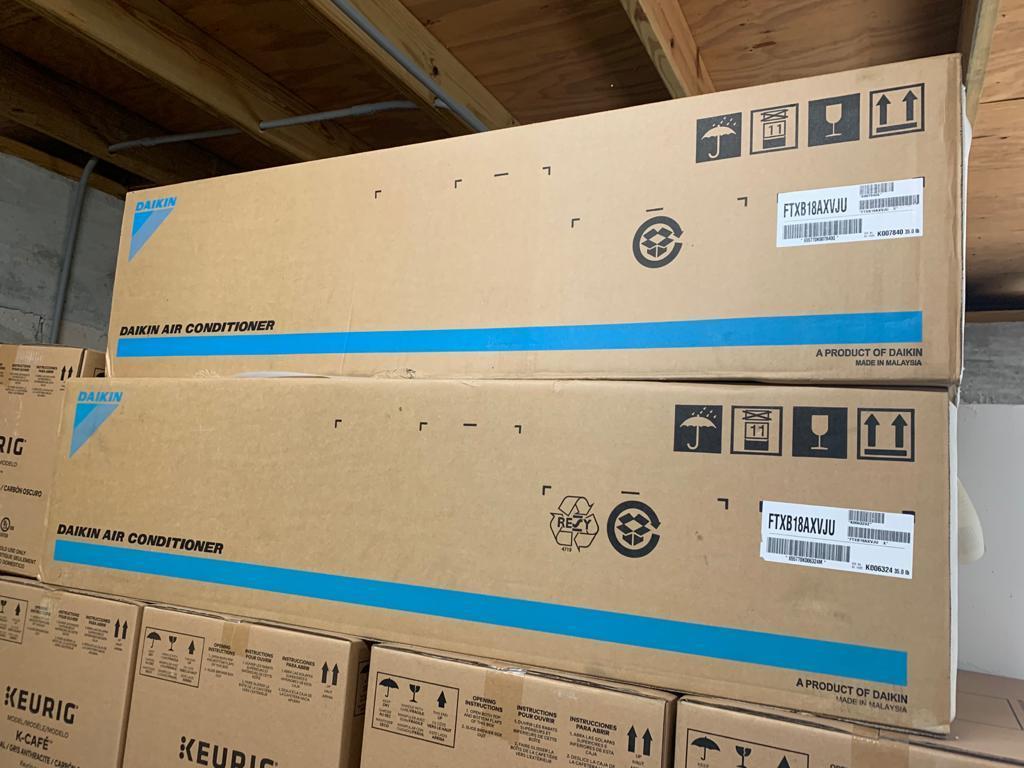 Daikin 1.5 ton 17 SEER Split AC