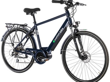 Affitto con pagamento online: City Bike a pedalata assistita Emotion Bike Uomo