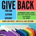 Event: 1st Annual Anglican Greek GIVE BACK