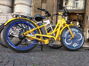 CITY EBIKE FAT - Noleggio city ebike Verona