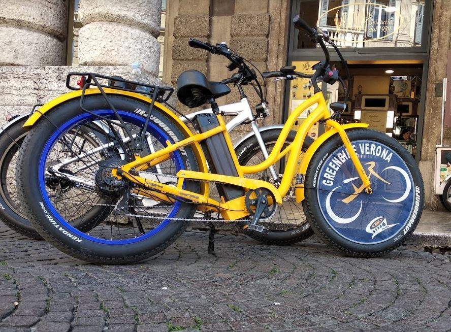 CITY EBIKE FAT - Noleggio city ebike Verona