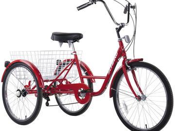 Affitto con pagamento online: TRICICLO Adulti - Noleggio triciclo adulti Cavallino-Treporti VE