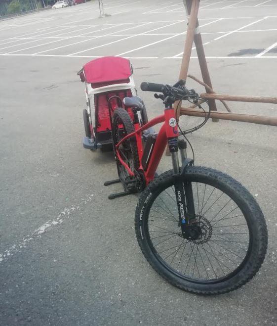 CARRELLINO ebike - Noleggio carrellino per ebike Piane di Mocogno