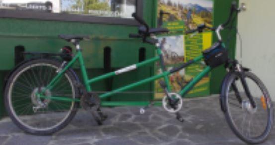 TANDEM - Noleggio tandem a pedalata assistita Salice Terme PV