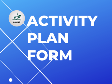 Group Consultation: ACTIVITY PLAN FORM (WALES)