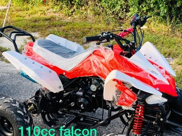 Sell: Red & White 110cc 4-Wheeler