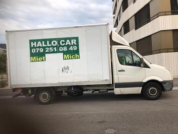 Transporter: Lieferwagen zum vermieten