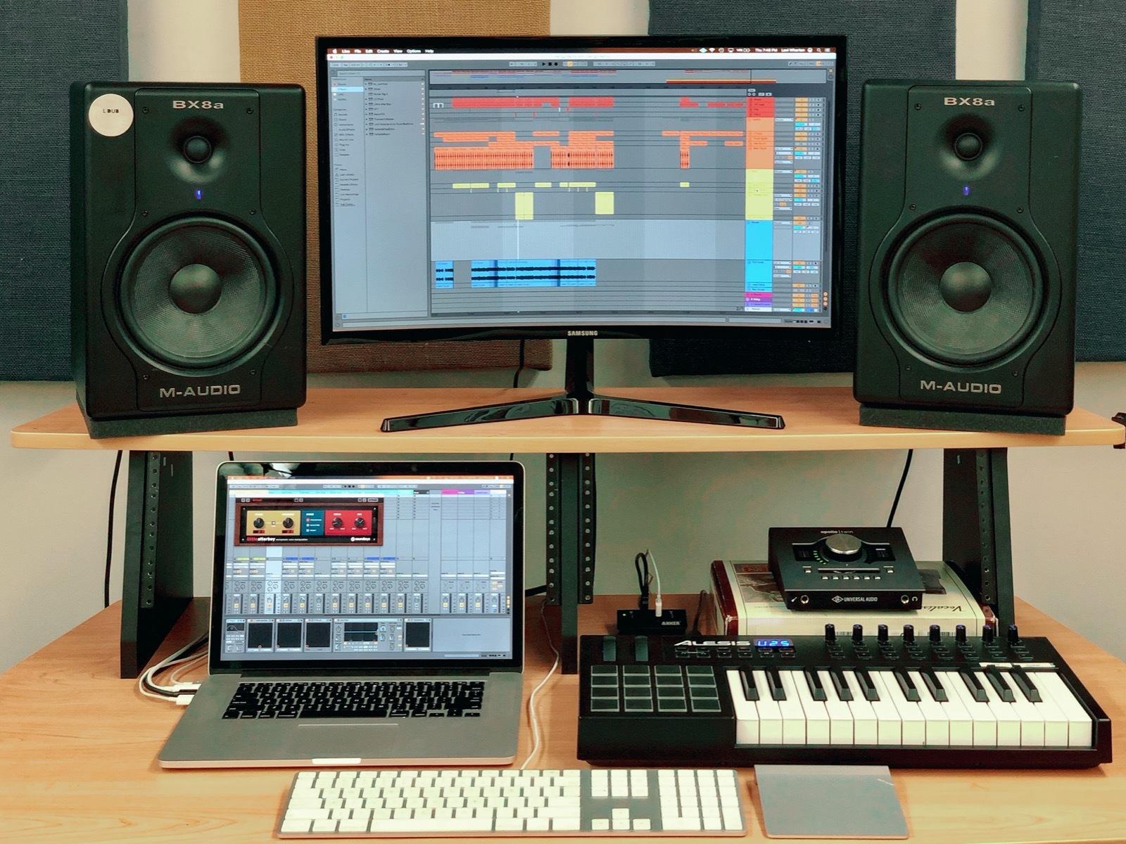 Clases de Producción musical en Ableton Live.