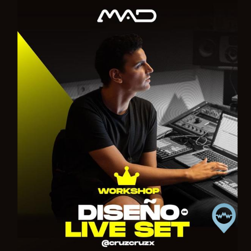 Workshop / Live Set Ableton Live (22 y 23 Agosto / 20hs Canarias)