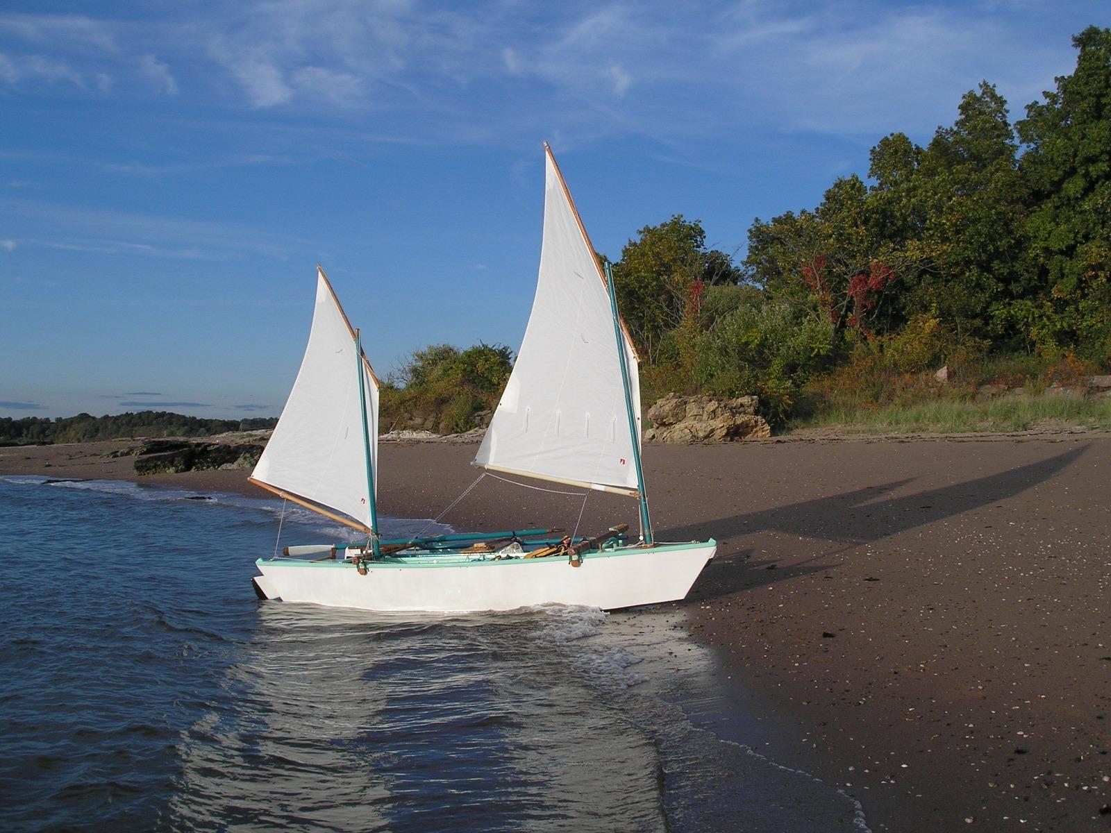 16 Foot Fibreglass 2 Person Canoe