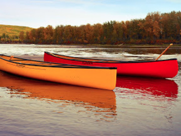 Renting out without online payment: Large 3 Person Canoe