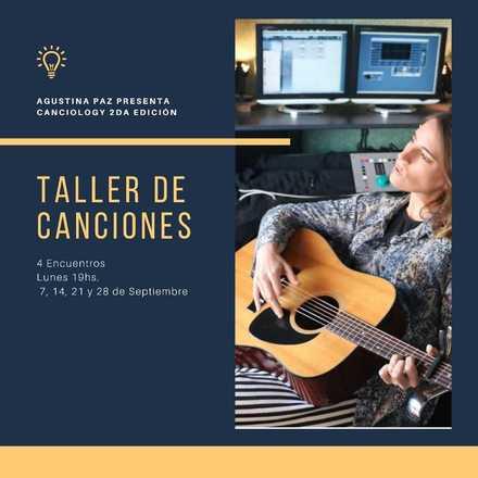 Clases: TALLER DE CANCIONES (Presencial/Remoto)