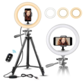 Online checkout and shipping: Extendable Tripod with Ring Light