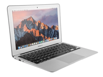 Online checkout and shipping: MacBook Air (11-inch, 2015)
